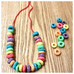 Edible Necklaces | Chocolate Factory Party Ideas | Chocolate Factory Party Games | Kit & Caboodle Parties
