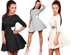 beautiful flared dress