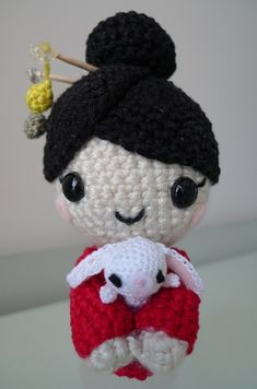 Amigurumi Chinese New Year Doll - Tutorial