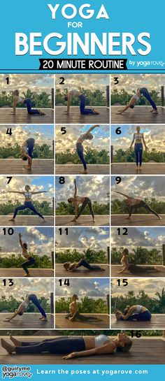 Yoga Positionen, Vinyasa Yoga, Learn Yoga, How To Start Yoga, Yoga Routine For Beginners, Yoga Exercises For Beginners, Yoga Movement, Improve Flexibility, Cool Yoga Poses