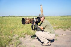 This is Will, photographer and friend of wild meerkats. | This Unexpected Friendship Between Meerkats And A Photographer Will Brighten Your Day