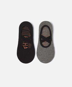 f6ca521869 2-pack of pilates shoeliner socks Pyjamas