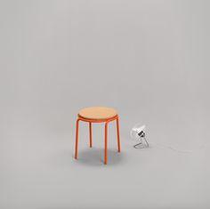 Tabouret MAX - Mobilier contemporain dans une mise en scène minimaliste