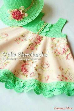 Lindo vestido infantil.