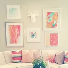 Loved the way my #art collage turned out. #westelm #minted
