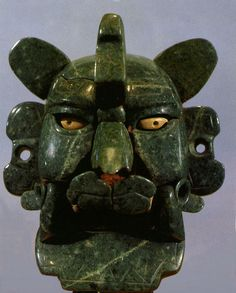 Murcielago. The Zapotec God Of Night And Death 'Bat God' Mask, From Monte Alban Near Oaxaca Mexico. National Museum of Anthropology and History or Museo Nacional de Antropología e Historia or Museo de Antropología In Mexico City D.F. Mexico Travel & Tour Pictures, Photos, Images, & Reviews.