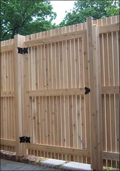 Image detail for -fence styles explained wood privacy fence styles for certain ...