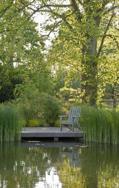 Pond Side Deck by Acres Wild