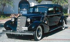 1935 Cadallic 12 Town Car...12 Cylinder engine....