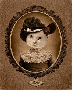 another vintage custom portrait