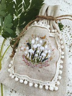 Handmade embroidery by Nocturnal Studios Embroidery Art, Cross Stitch Embroidery, Embroidery Patterns, Textiles, Moda Boho, Fabric Art, Crochet, Lana, Needlework