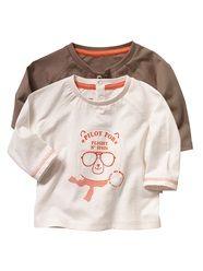 Vertbaudet 2er-Pack Baby M/ädchen T-Shirts