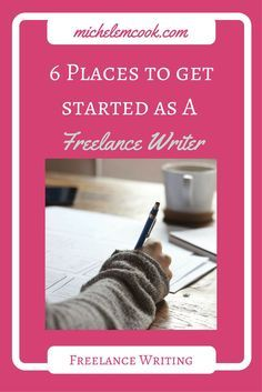 6 places to get started as a freelance writer