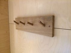 Hang your coats, towells, dressing gowns, shoes - anything! This peg rail can be made long enough for 10 pegs.