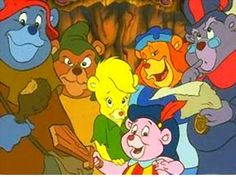 The Gummi Bears' was a huge success, 'The Wuzzles' was not.  It only lasted 13 episodes before being cancelled, but it was a hit in the UK and has since become something of a cult classic.