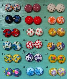 I used to own two pairs of polkadot earrings lost them awhile back I want a collection of these !!