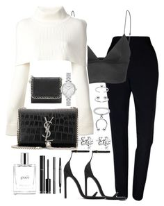 """""""Untitled #2927"""" by theeuropeancloset on Polyvore featuring Plakinger, T By Alexander Wang, Maison Margiela, Yves Saint Laurent, Maria Francesca Pepe, STELLA McCARTNEY, Kate Spade, philosophy, Chanel and Burberry"""