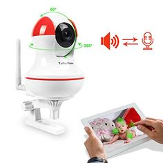 Special Offers - A-zone Wireless Infant/ Baby Home Pet Monitors with HD 720P Security IP Camera Pan Tile Night Version 2 way Audio (Red&White) - In stock & Free Shipping. You can save more money! Check It (June 22 2016 at 08:02PM) >> http://smokealarmusa.net/a-zone-wireless-infant-baby-home-pet-monitors-with-hd-720p-security-ip-camera-pan-tile-night-version-2-way-audio-redwhite/