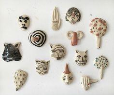 Raisa Álava ceramic brooch
