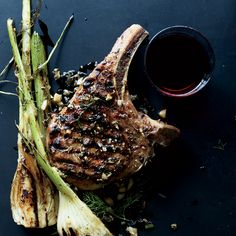 Pork Chops with Fennel and Juniper   Food & Wine