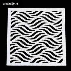 Stencil Wave Pattern Ali Express