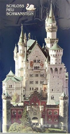 Neuschwanstein Castle  Photographic Advent from Germany
