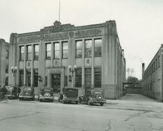 Jackson Citizen Patriot newspaper office in Jackson, Michigan, c. 1930's