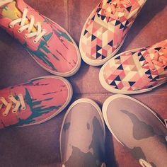 My #Bucketfeet arrived today!! #artistdesigned #inlove #colorful