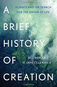 A Brief History of Creation.  Click on the book cover to request this title at the Bill or Gales Ferry Libraries 4/16