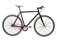 Fitnessbike, KS Cycling, »Essence«, 28 Zoll, schwarz 1 Gang (Singlespeed), Freilauf oder Fixed Gear