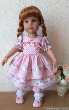 """Комплект """"Розовая зефирка"""" для кукол Готц / Одежда для кукол / Шопик. Продать купить куклу / Бэйбики. Куклы фото. Одежда для кукол"""