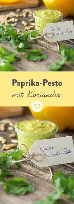Schnell und frisch zubereitet, lässt sich mit diesem Pesto jedes Nudelgericht verfeinern.Und Butterbrote. Und Pizza. Eigentlich alle deine Lieblingsgerichte
