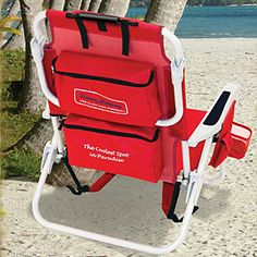 Backpack Cooler Chair, $48.26, Tommy Bahama; amazon.com