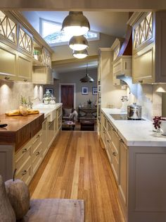 Kitchen Idea  Long Narrow Kitchen Design With Window Over Sink Awesome Designer Galley Kitchens Design Inspiration