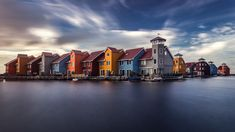 The Colorful Houses Of Groningen