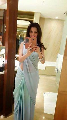 Vedika Hot In Backless Saree Blouse Photos South Indian Actress Sexy Blouse, Saree Blouse, Indian Dresses, Indian Outfits, Satin Saree, Indian Attire, South Indian Actress, Beautiful Saree, Indian Designer Wear