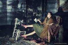 Nina Dobrev for Vogue China (2013)