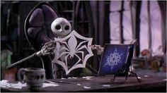 DIY Nightmare Before Christmas Halloween Props: Jack Skellington's Spider Snowflake Tutotial