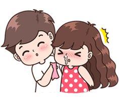 Oh bebé darling I'm sicky wicky maná bebé 💋 moquitos Sathi darling. Cute Chibi Couple, Love Cartoon Couple, Cute Love Cartoons, Cute Couple Art, Anime Love Couple, Cute Couples, Cute Couple Drawings, Cute Drawings, Cute Love Pictures