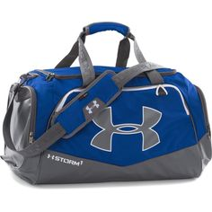 1f22fce06a95 Under Armour Royal Graphite UA Undeniable Medium Duffel