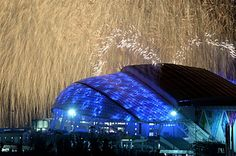 Sochi olympics opening ceremony.