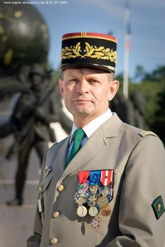 French Foreign Legion officer