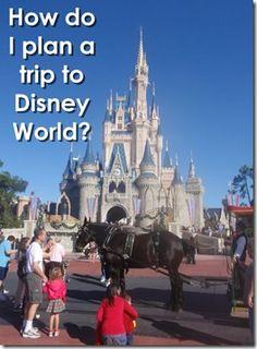 How do I plan a trip to Disney World?