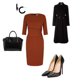 """""""Work"""" by cgraham1 on Polyvore featuring Christian Louboutin, STELLA McCARTNEY, Givenchy and L. Erickson"""