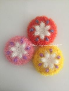 요즘제가이것저것하느라.. 정말정신이조금없을정도로.. 블로그... Chrochet, Knit Crochet, Diy And Crafts, Crochet Earrings, Embroidery, Knitting, Flowers, Patterns, Crochet