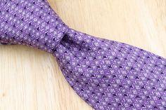 SKINNY Thomas Pink Purple Black mens Silk Tie #ThomasPink #NeckTie