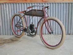 hillbilly's latest board track bike