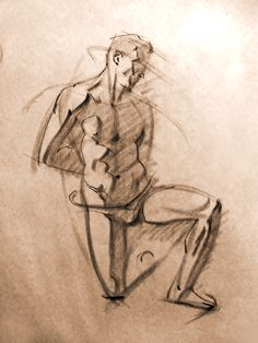 Blackest Animation: Figure Drawings and Monte