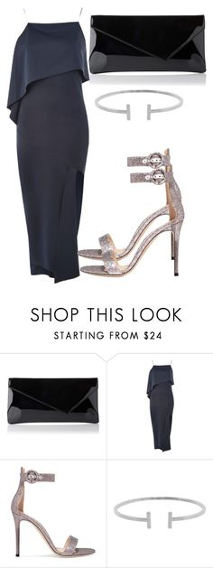 """""""Untitled #4551"""" by beatrizvilar on Polyvore featuring Topshop, Gianvito Rossi and Humble Chic"""