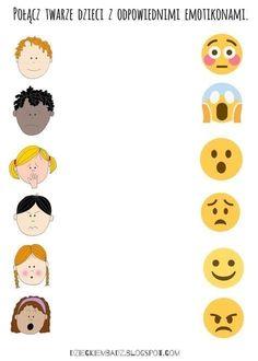 Emotions Preschool, Body Parts Preschool, Feelings Activities, Free Preschool, Preschool Worksheets, Preschool Learning, Kindergarten Math, Learning Activities, Preschool Activities